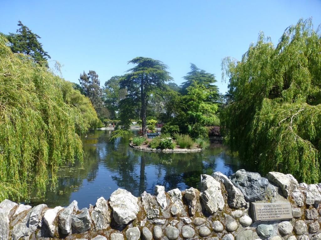 Ein Bild aus dem 150 Jahre alten Beacon Hill Park