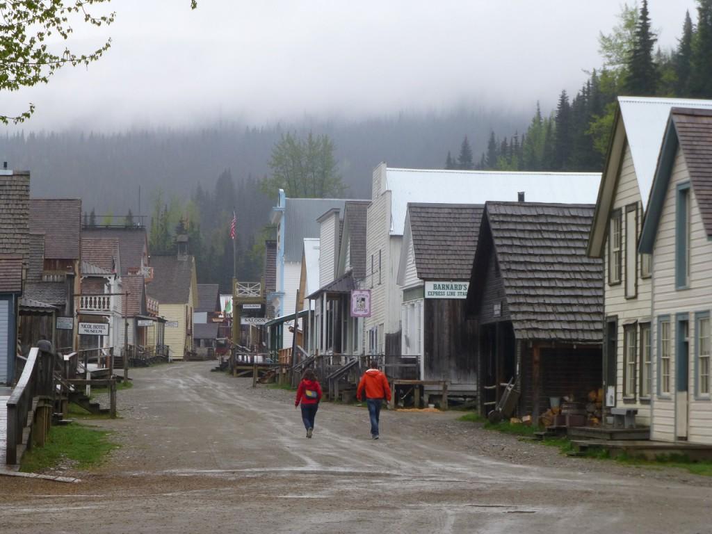 Die Hauptstrasse von Barkerville