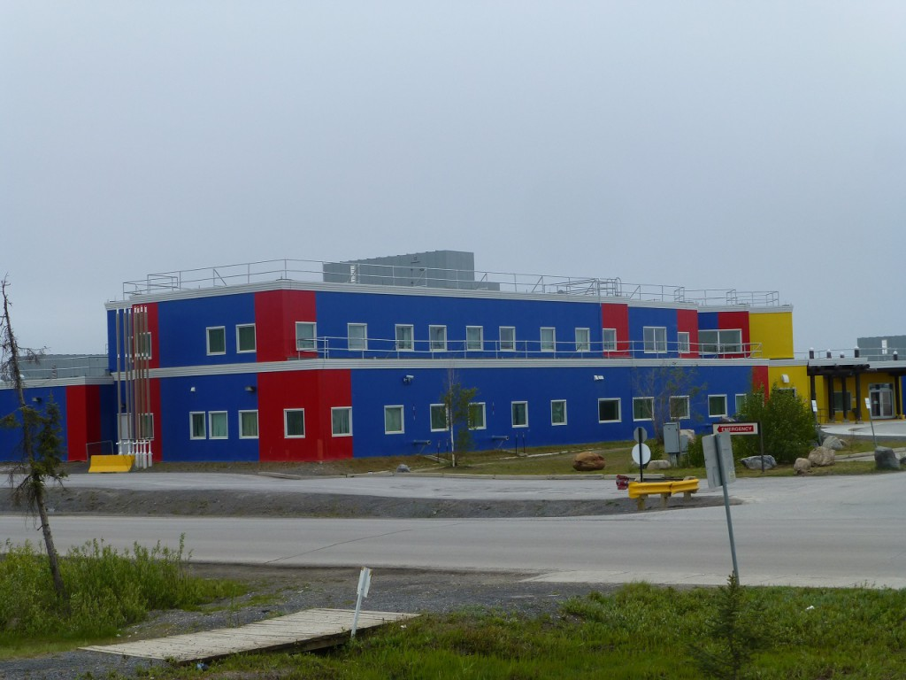 Teil des Krankenhauses