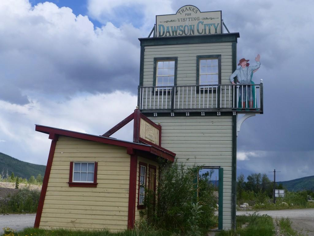 ...und nun der 1. Abschied von Dawson City!