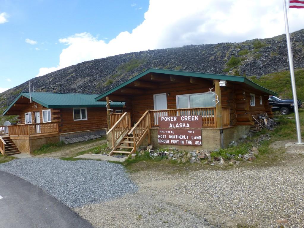 Grenze Yukon - Alska