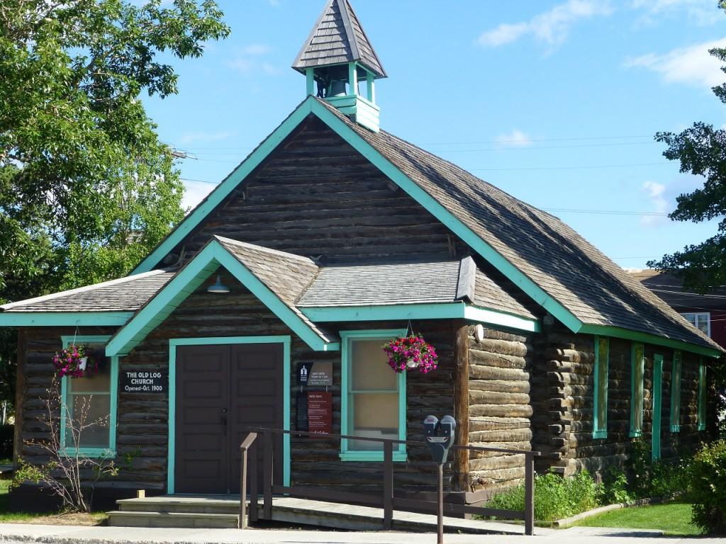 Die Old Log Church war leider geschlossen.