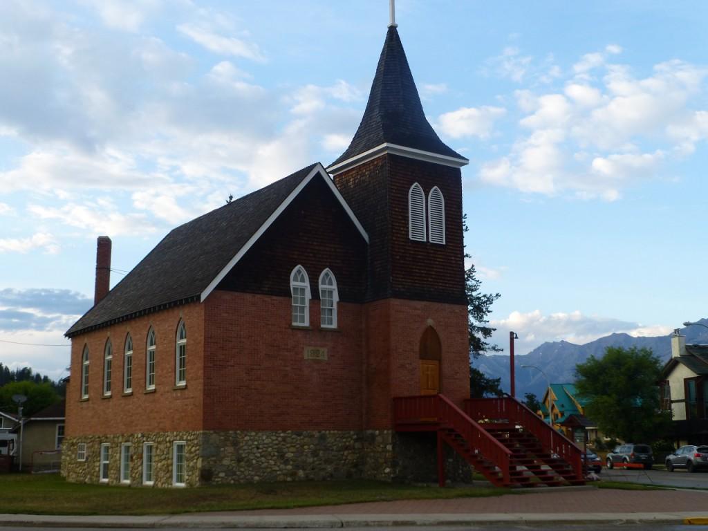 Die Kirche in Jasper