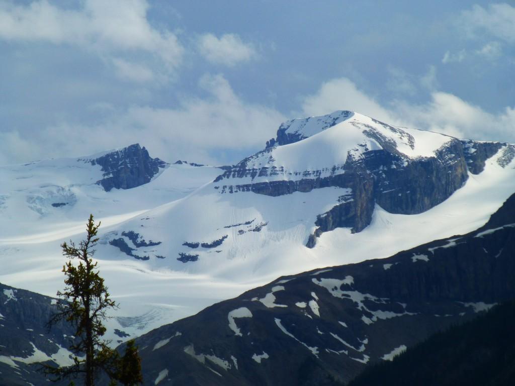 ...auf dem Weg nach Lake Louise