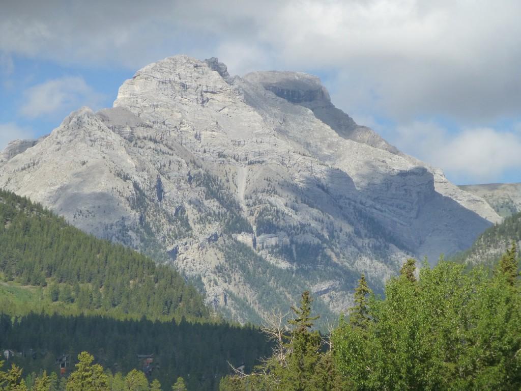 Berge um Canmore/Alberta