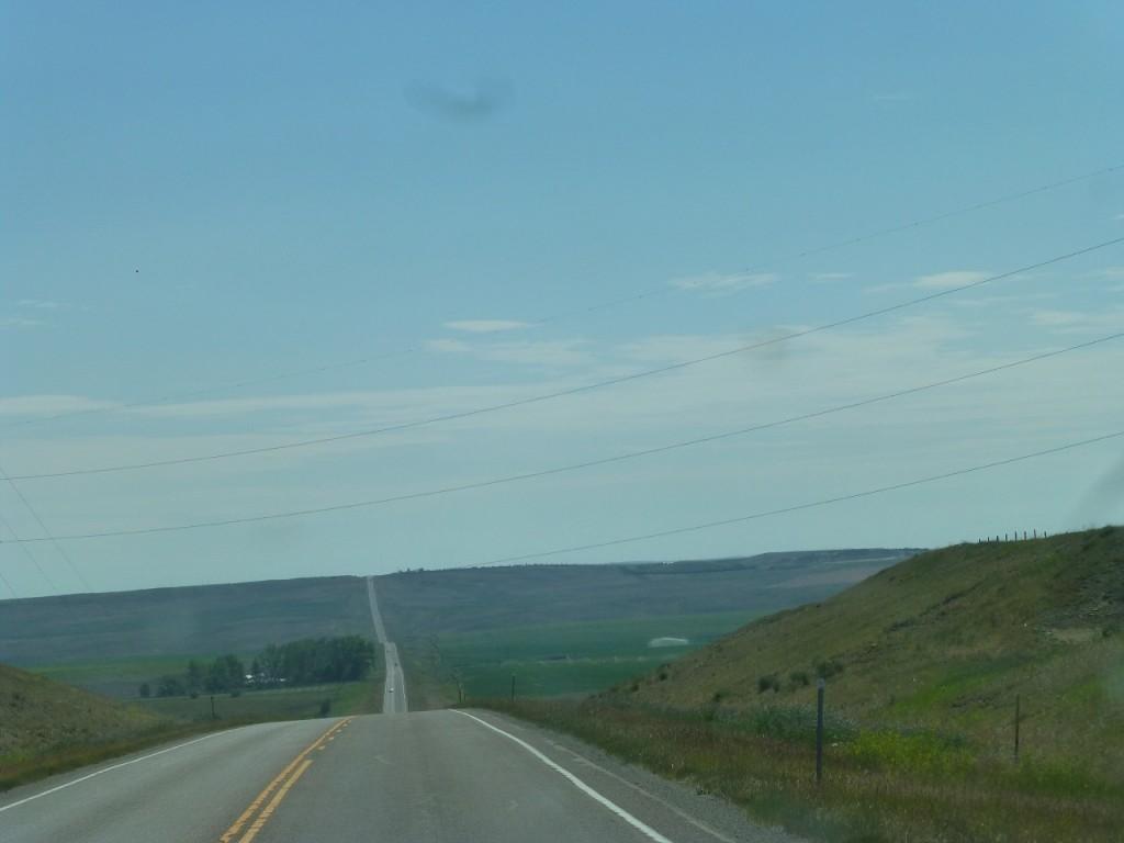 """Montana im"""" Beef County"""" , so weit das Auge reicht."""