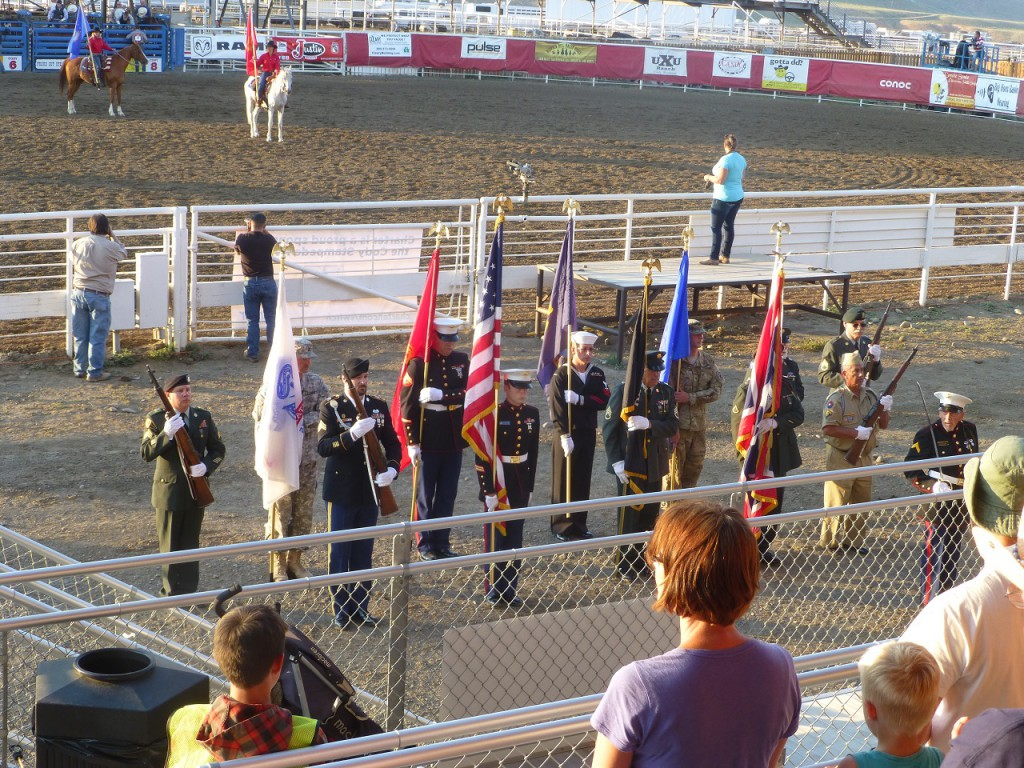 Vor Beginn des Programms werden alle Truppenteile vorgestellt, danach siehe Bild kommen die Veteranen zu ihrem Recht.