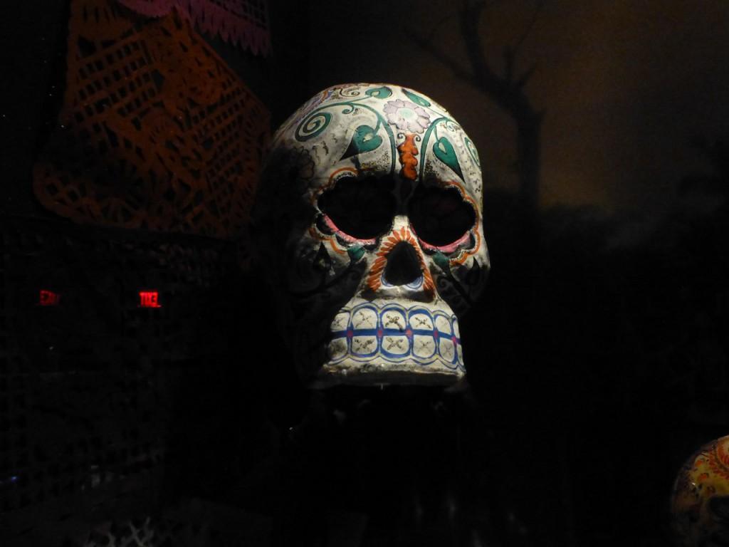Totenmaske eines hochrangigen Inka.